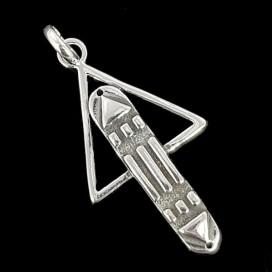 El Simbolo de Atlantis de plata