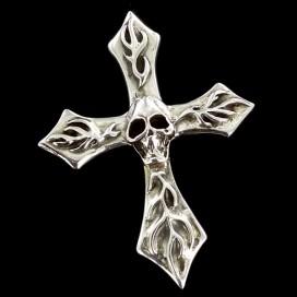 Silver Cross skull