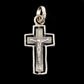 Romanic silver Cross