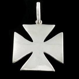 Cruz Templaria o Cruz Pate de plata