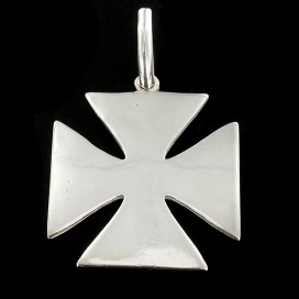 Silver Pattée cross