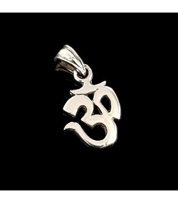 Simbolo Om de plata