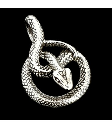 Colgante en forma de serpiente