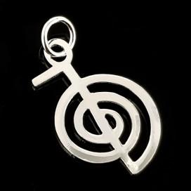 ChoKu Rei. Silver pendant