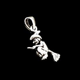 La Bruja de la Suerte. Plata con cadena
