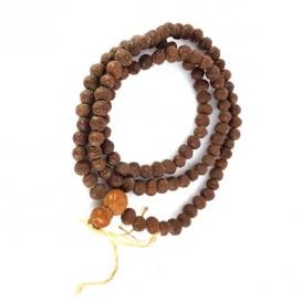 Mala. Rosario Budista. Bolas de semillas