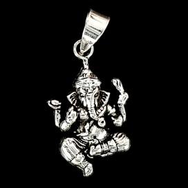 Silver Ganesha pendant
