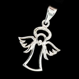 Ángel de la Guarda. Plata