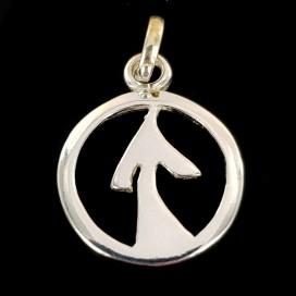 Simbolo Celta del exito y Amuleto protector. Plata