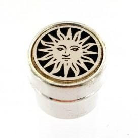 Sun. Metal box