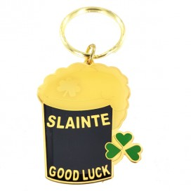 Irish Good Luck keyring