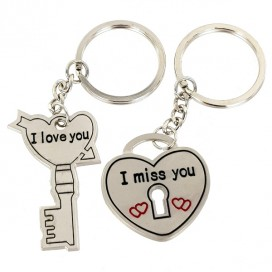 The Keys to My Heart. Double Keyring