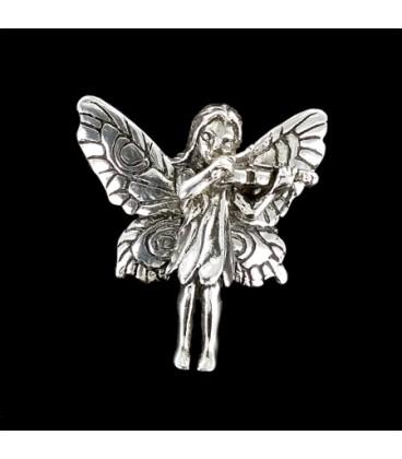 Ninfa de plata tocando el violin