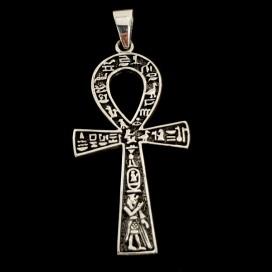 ANKH Cruz de la vida egipcia de plata