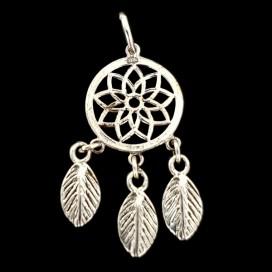 Dreamcatcher Silver pendant