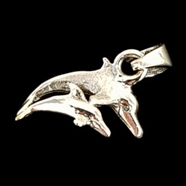 Lucky Dolphin. Sterling silver