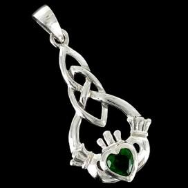 El anillo de Claddagh Colgante