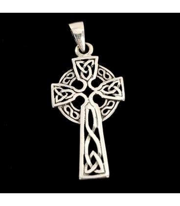 Cruz celta de plata ley 925