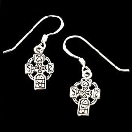 Cruz celta  Pendientes de plata