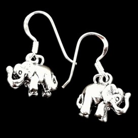 Good luck Elephants earrings