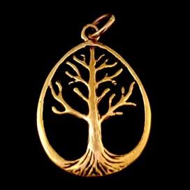 El Arbol de la Vida. Colgante de bronce