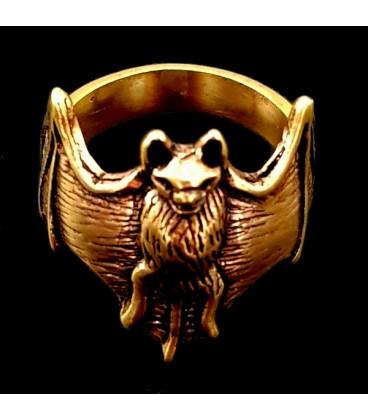 Anillo Murcielago simbolo de la noche