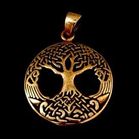 El Arbol de la Vida de bronce