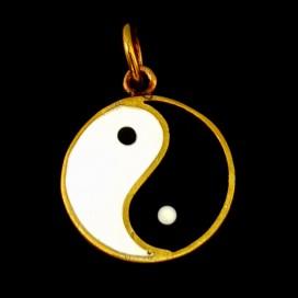 Yin Yang de bronce