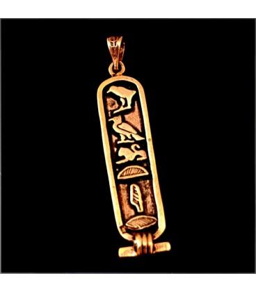 Jeroglifico Egipcio de bronce