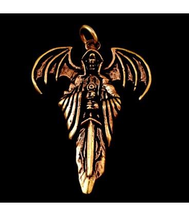 Angel de la Muerte de bronce