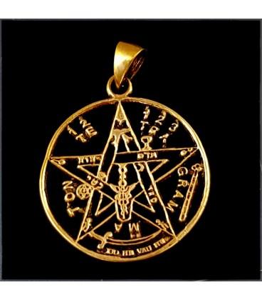 Tetragramaton de bronce