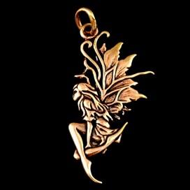 Hada Celta Protectora de bronce