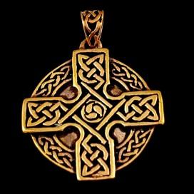 Cruz Celta de bronce