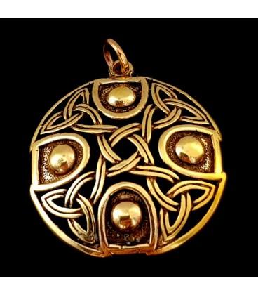 El Circulo Celta. Colgate de bronce