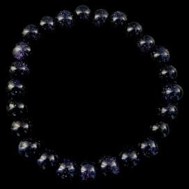 Pulsera de Aventurina Azul. Lluvia de estrellas
