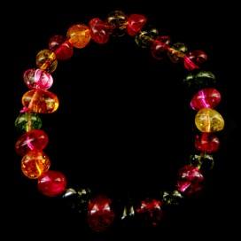 Pulsera de Turmalina Multicolor
