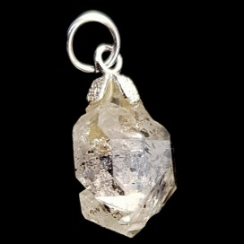 Diamante Herkimer. Colgante