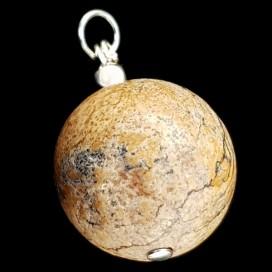 Paisina Jasper pendant. With cord