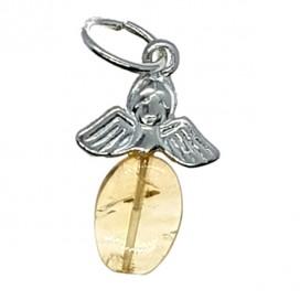 Colgante Angel con punta de citrino