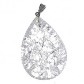 Cracked Quartz Magic pendant