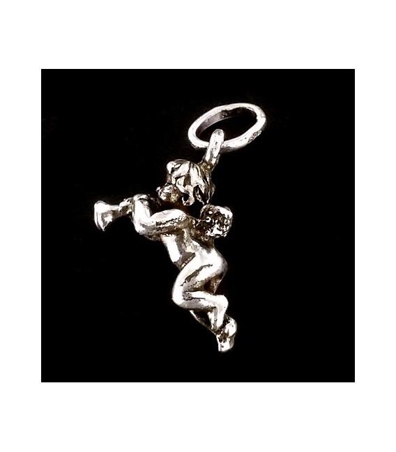 Colgante Querubín de plata
